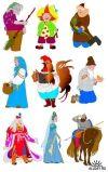 герої казок картинки